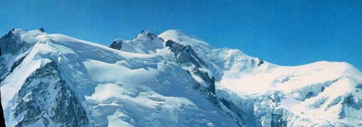 Mont Blanc postcard banner