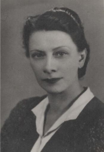 Jadwiga (Jadzia) Korngold-Kwiecińska, circa 1938, photo: Zulawski family archive