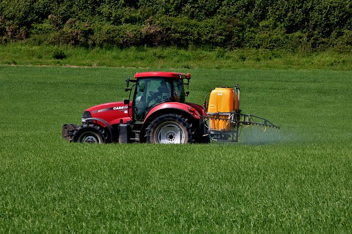 Chemicals in agriculture such as herbicides, plagicides, fertilizers