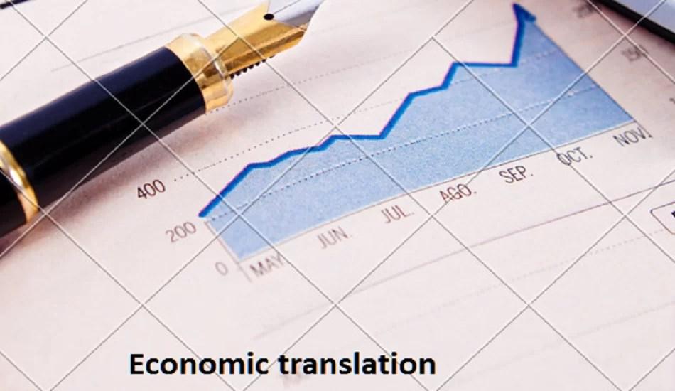 Economic translation services