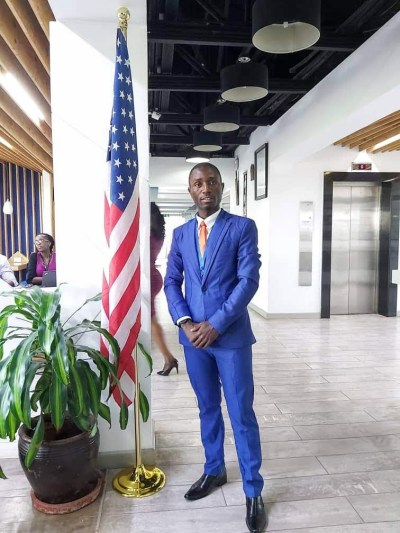 Cédrick Young African Leader YALI