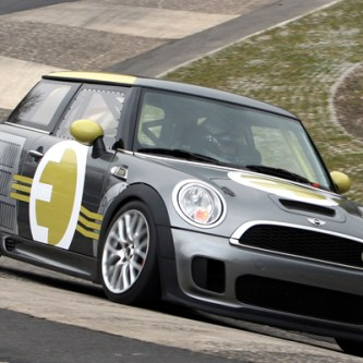 BMW's Mini E takes on the infamous Nürburgring-Nordschleife