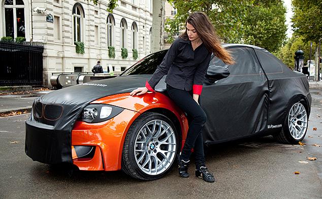 BMW's 1 Series M Coupe visits Paris