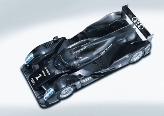 """The R18 features the """"shark fin"""" down the spine of the car, part of the new 2011 ACO regulations"""