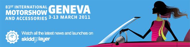 81st Geneva Motor Show on SkiddPlayer