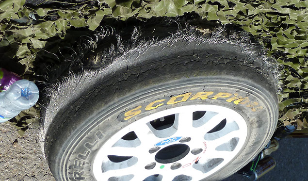 Hooning is BAD for tyres..