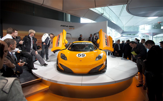 McLaren reveal pricing for their MP4-12C GT3 race car
