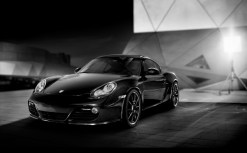 Porsche Cayman S Black Edition emerges from the shadows with 330 bhp