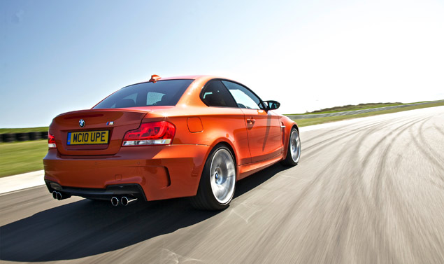 1 Series M Coupe on track