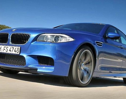 Yes, this is the new BMW M5.. (w/pictures)