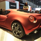 Alfa 4C Concept will debut at Goodwood