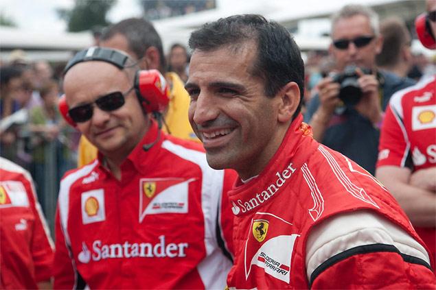 Ferrari F1 test driver Marc Gene