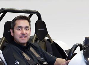 Ansar Ali, CEO of Caterham Cars