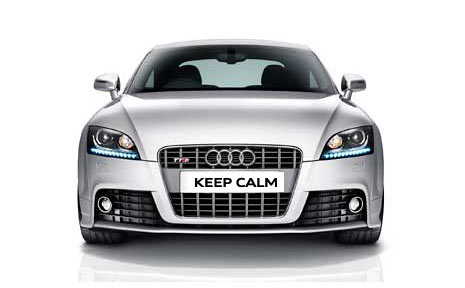 Audi seem pretty chilled-out about the whole issue, leaving TT owners 'chilled in'.  Brr..