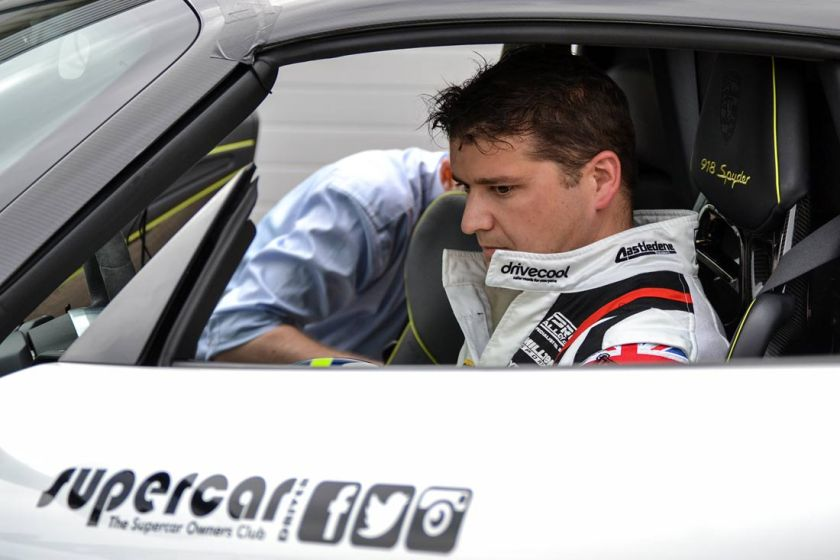 Mat Jackson in Porsche 918