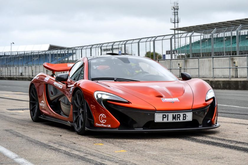 McLaren P1 victory