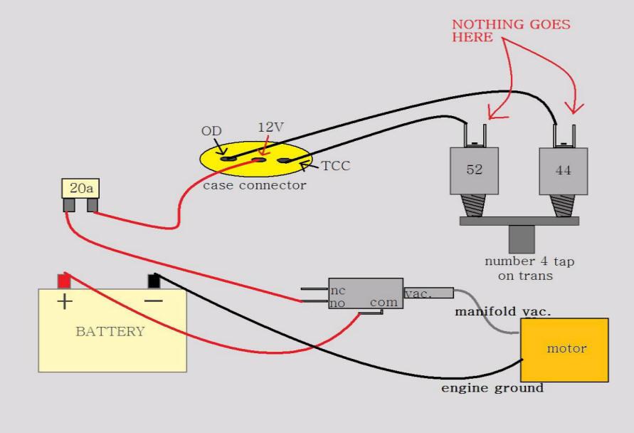 700r4 Torque Converter Lock Wiring