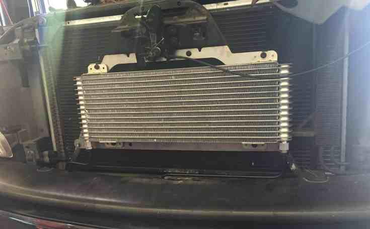 tru cook max 40k gvw transmission cooler installation - transmission cooler guide