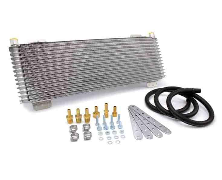 Tru Cool 40k Transmission Cooler With Installation Kit - Transmission Cooler Guide