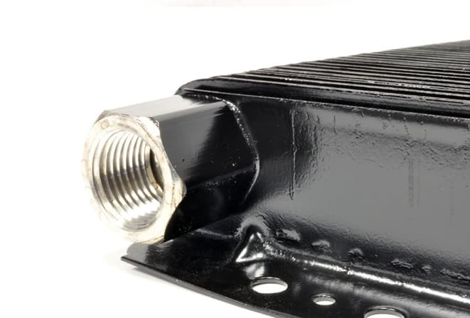 B&M 70266 Transmission Cooler 1/2