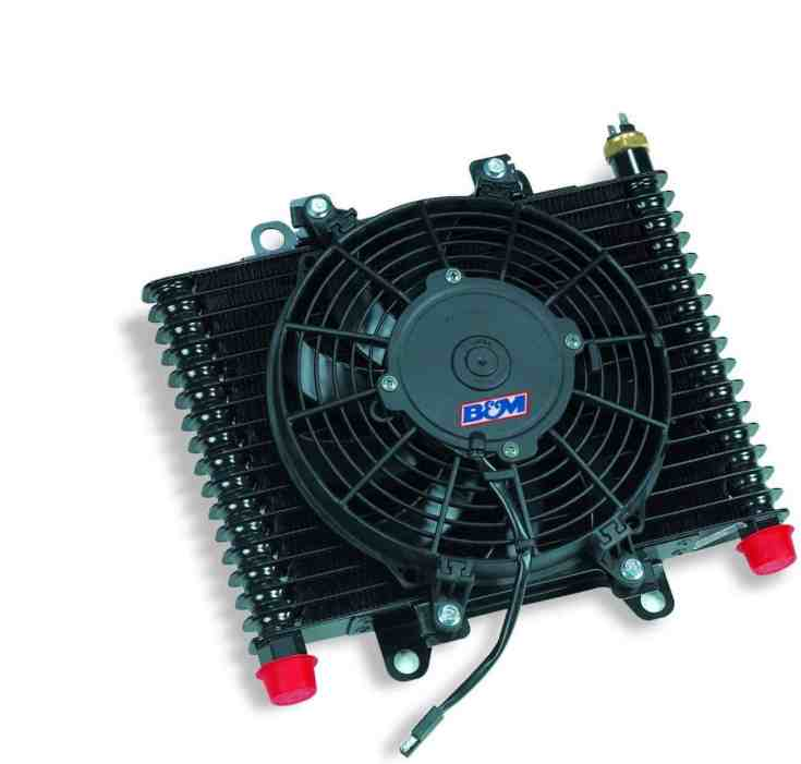 B&M 70297 SUperCooler Transmission Cooler With Fan - Transmission Cooler Guide