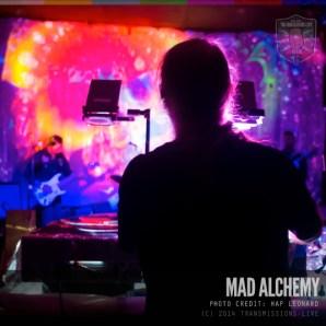 Mad Alchemy Light Show: Photo by Hap Leonard