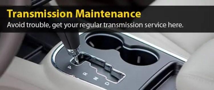 transmission-maintenance