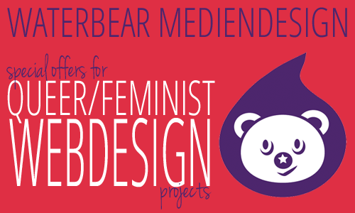 Ad Waterbear Mediendesign