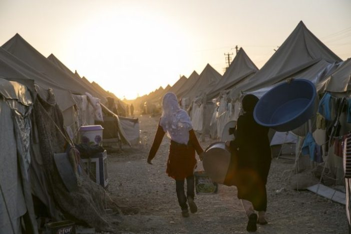 Between Humanitarianism and Security: Displacement in a Perilous State of Exception