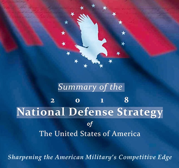 The 2018 US National Defence Strategy In Plain Words: Tragi-Comic!