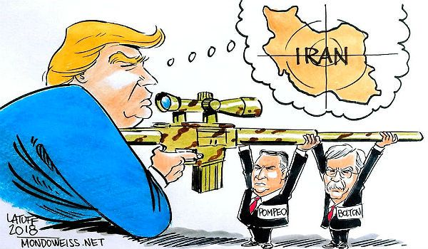 TFF PressInfo # 458: Mike Pompeo's declaration of war on Iran