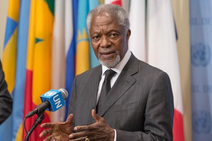 Att arbeta med Kofi Annan