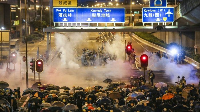 Hong Kong in the crosshairs of global power and ideological struggle