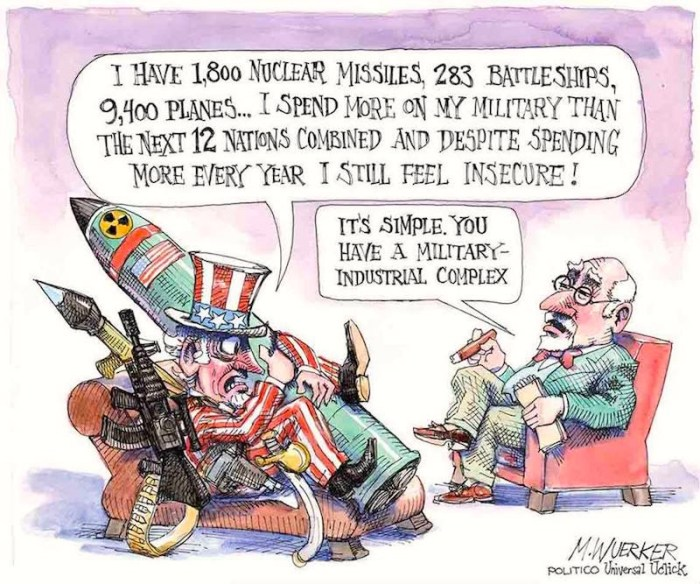 The militarization of everything