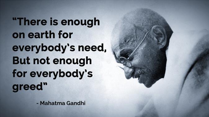 Climate Action, Gandhian Ways
