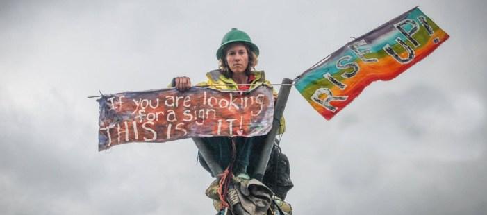 Former UN climate chief calls for civil disobedience