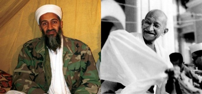 Conversation Between Gandhi & Bin Laden – by Bhikhu Parekh