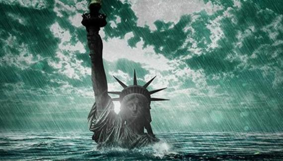 The Fall of the American Empire on a Failing Planet