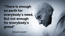 Lessons for the environmental movement from Gandhi