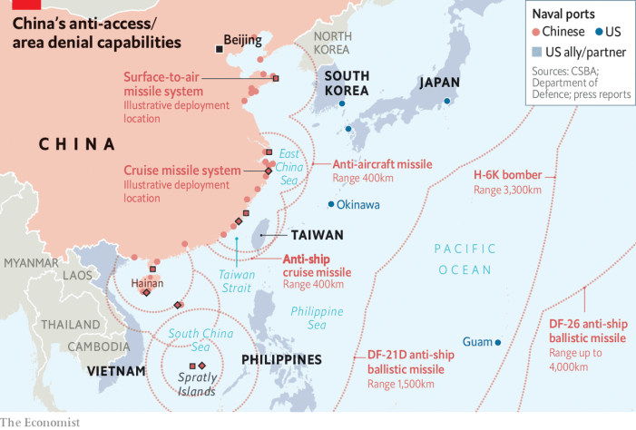 A Taiwan Crisis May Mark the End of the American Empire