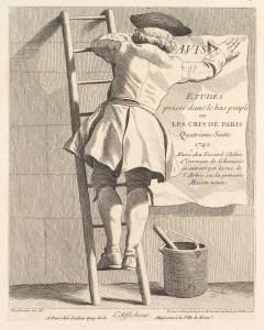 #4; 'L'Afficheur', 1742, [53.600.588(37)]