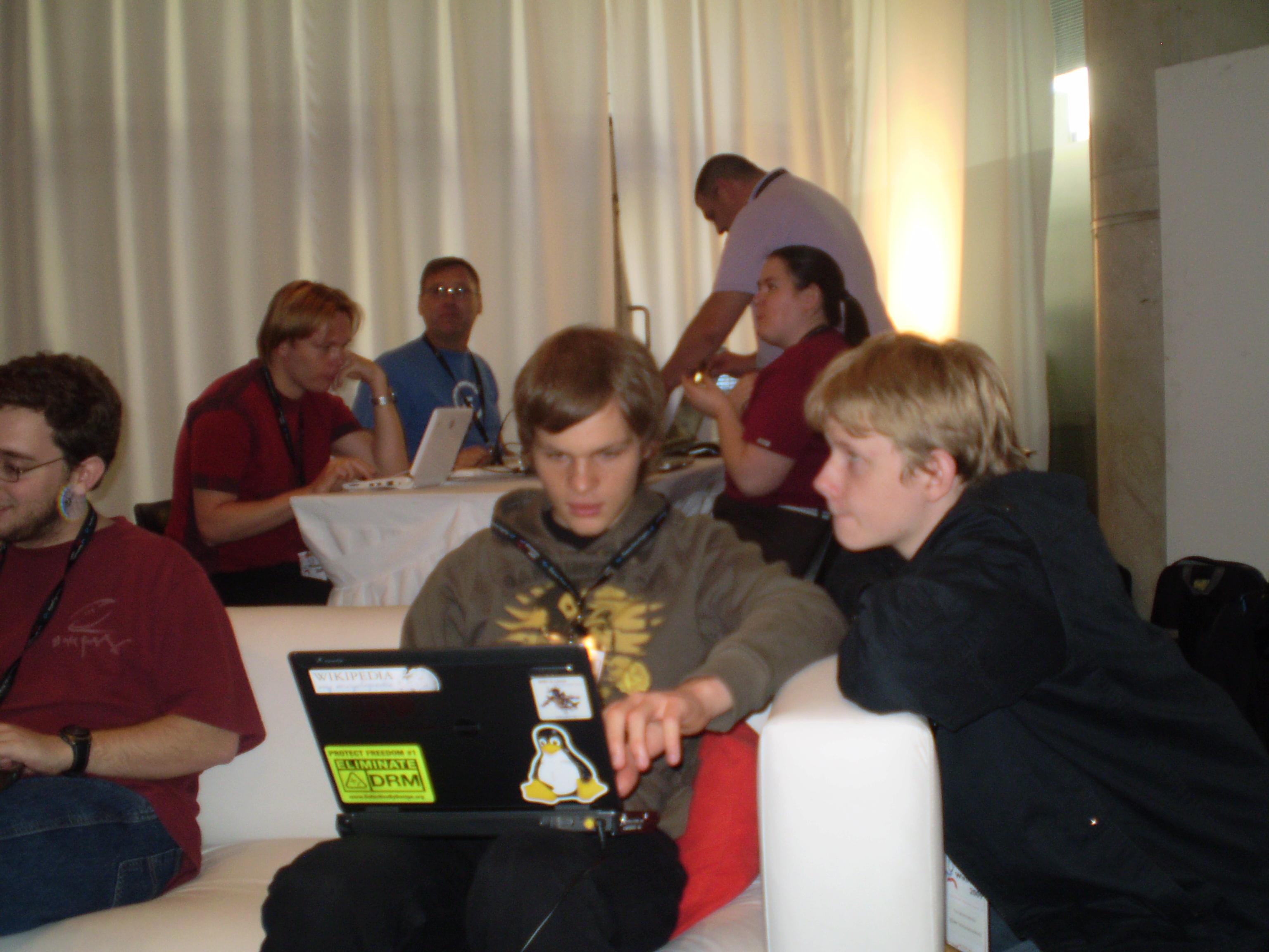 wikipedians at work
