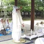 武道神道の立ち姿・日垣宮主師