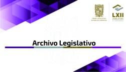 ARCHIVO LEGISLATIVO