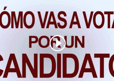 Los candidato que viola la ley haciendo campaña