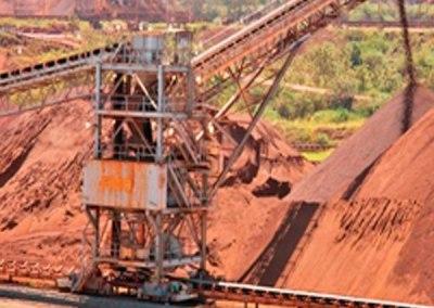 El tráfico de mineral de hierro en Ferrominera Orinoco