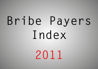Bribe Payers Index (BPI): 2011