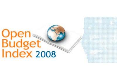 Indice de Presupuesto Abierto 2008