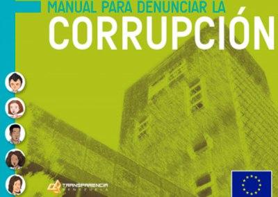 Manual para denunciar la corrupción