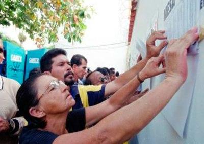 Denuncian operación morrocoy durante presidenciales del siete de octubre